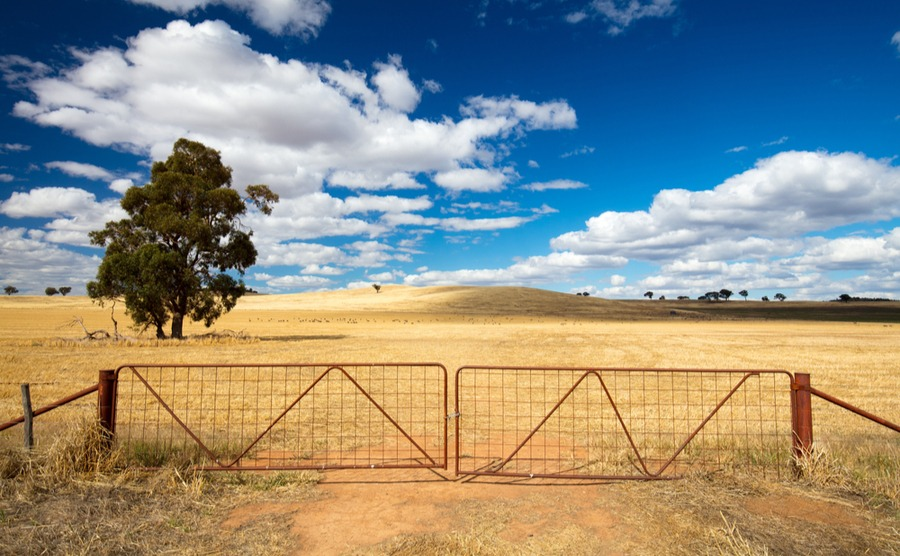 Anyone can buy land to build on in Australia, as long as it's approved by the FIRB.