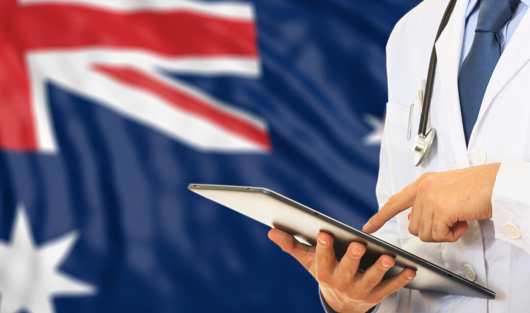 How can you work as a doctor in Australia?