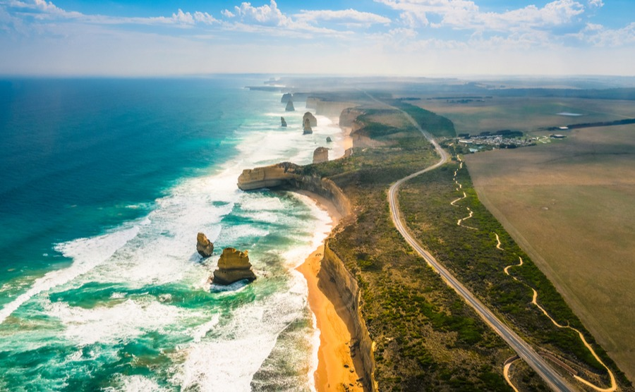The twelve apostles are a must-see in Victoria.