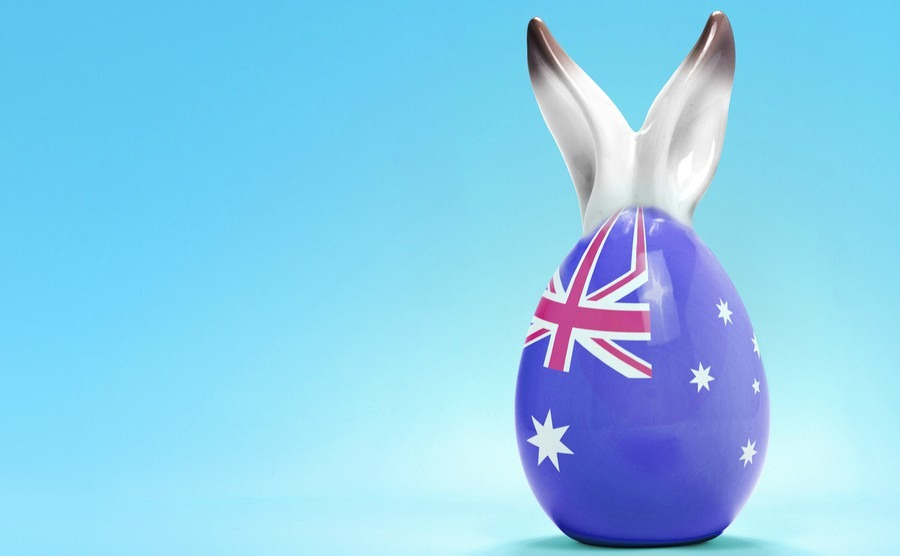 What is the date of easter in Australia