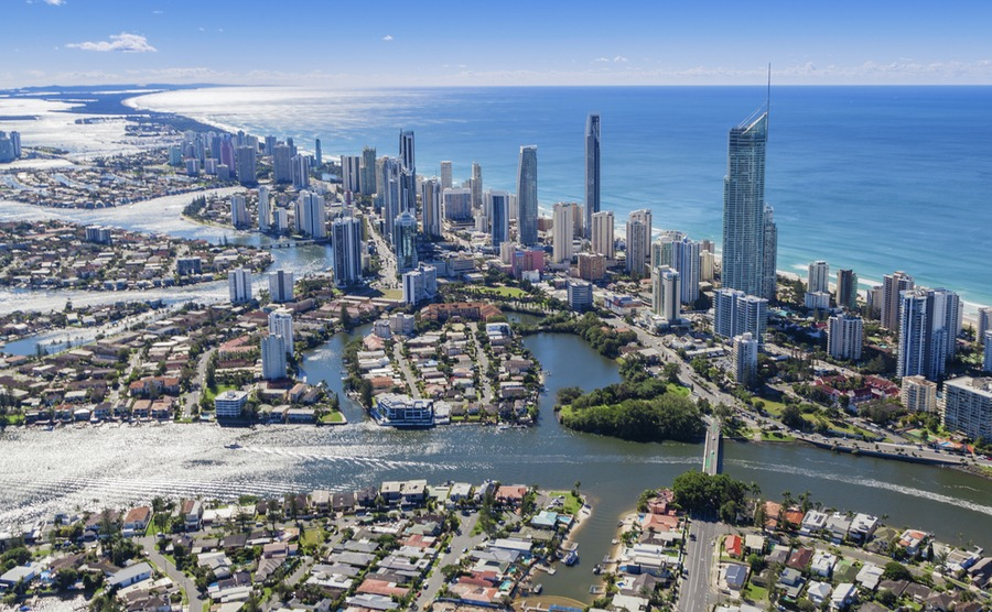 Gold Coast is one of Australia's premier tourist resort cities. A fantastic place for spending the British winter in Australia.
