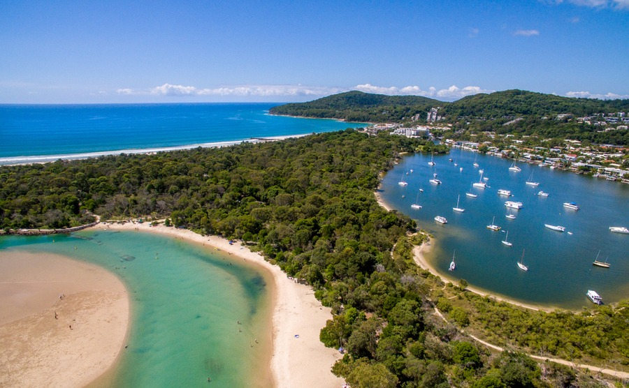 The beautiful beaches of Noosa are just a short drive away (in Australian terms) and make a great day trip.