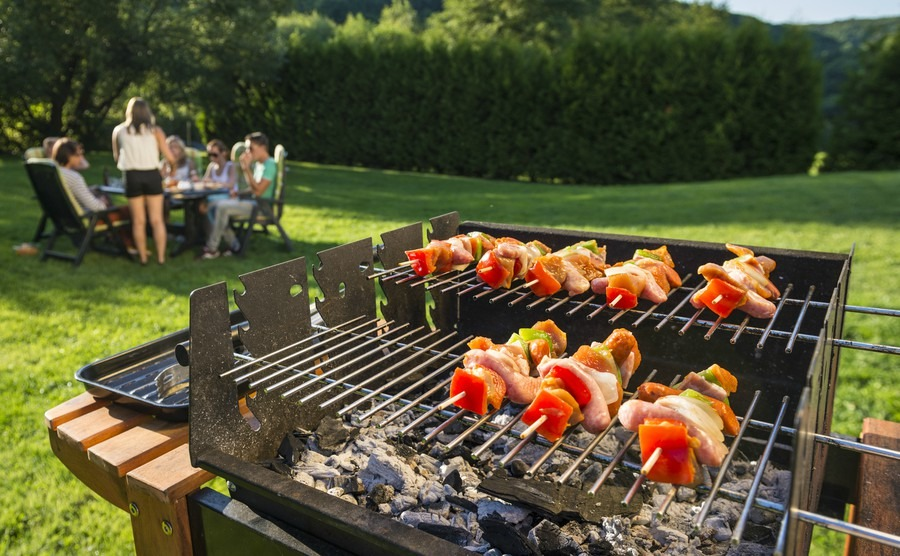 Barbecue shish kebab