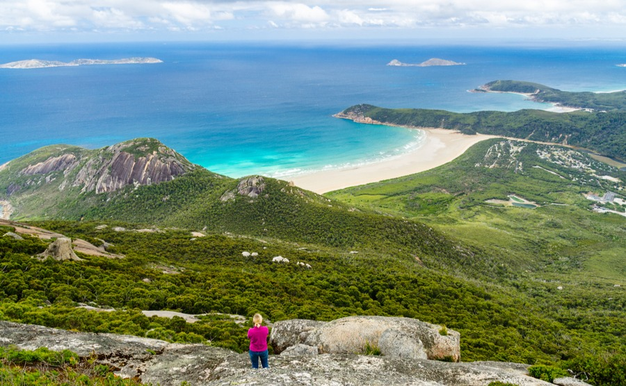 Wilson's Promontory feels a world away from the city life.