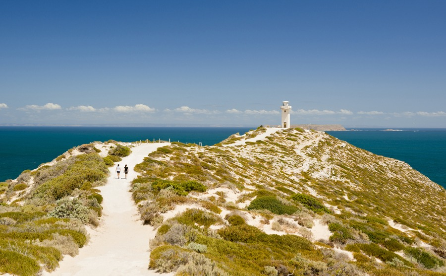 The rugged Yorke Peninsula is a popular place for South Australians. Could you spend the British winter in Australia here?
