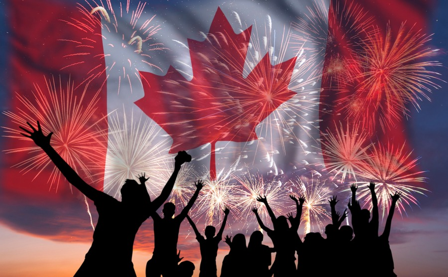 Celebrate a move to canada in 2019