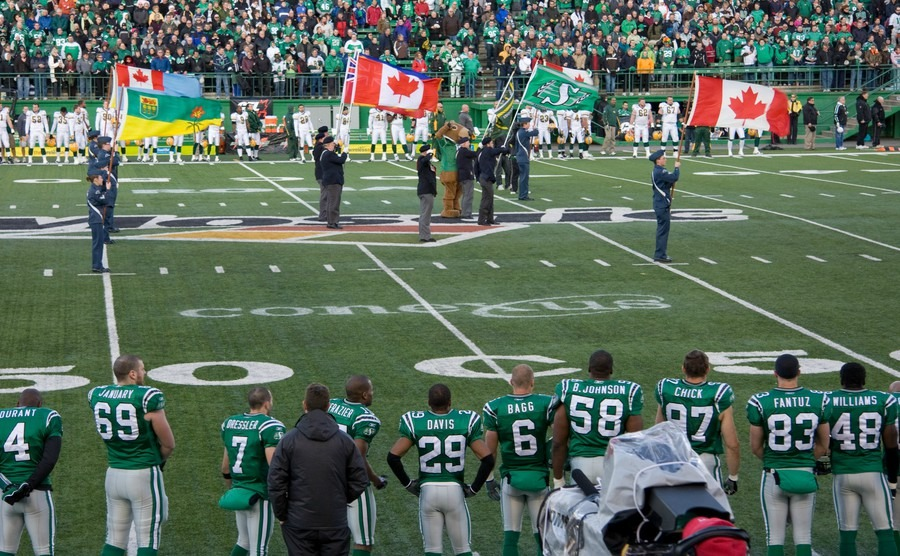 canadian-football-league-game-featuring-the-saskatchewan-roughriders-and-edmonton-eskimoes-october-25-2008-in-regina-canada