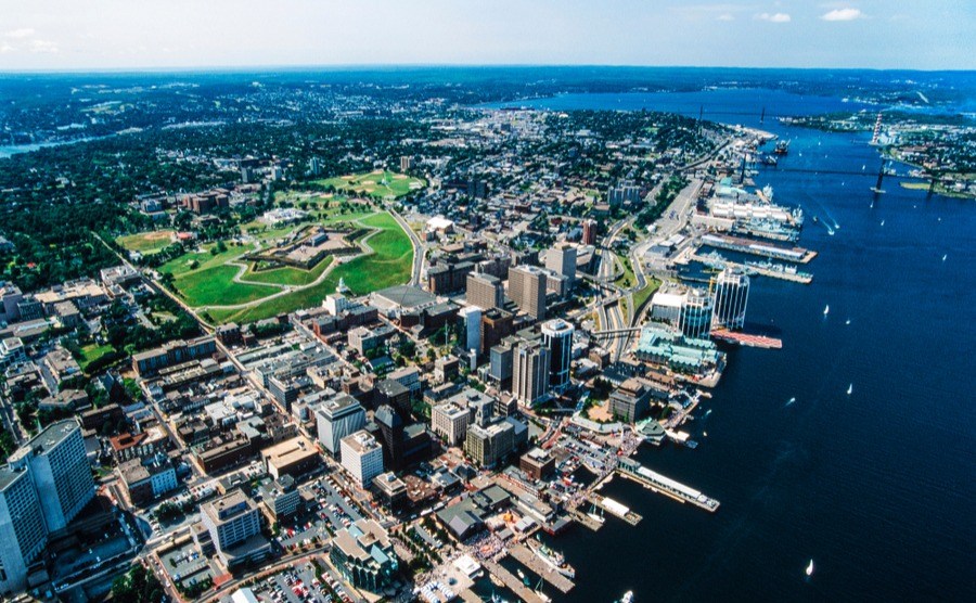 Halifax is the centre of Nova Scotia's growing economy.