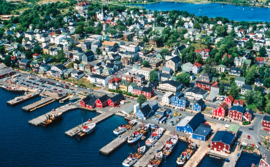 Mahone Bay is one of the most popular areas for newcomers to Nova Scotia.