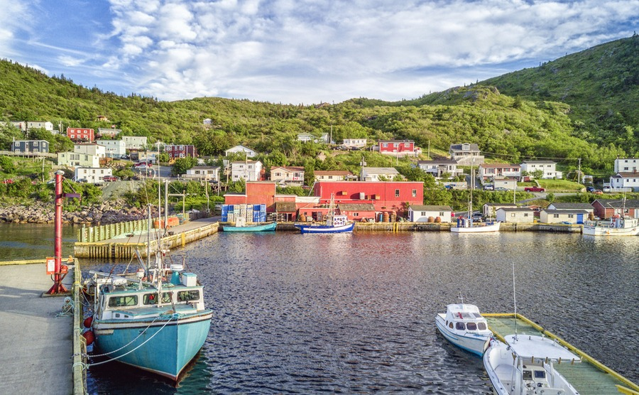 Newfoundland boasts stunning nature and pretty towns and villages.