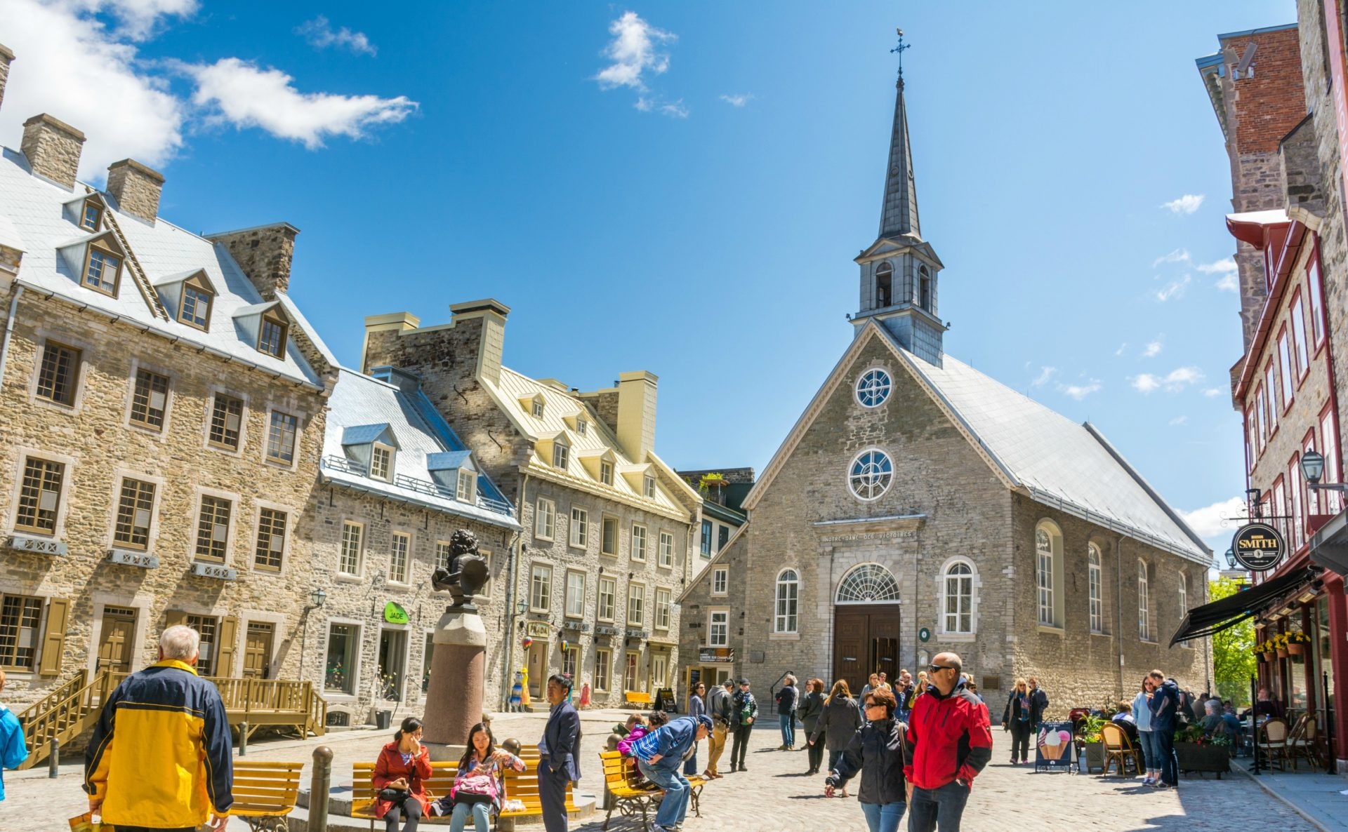 Quebec has an excellently preserved historic centre