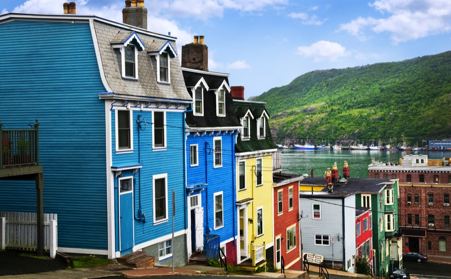 St John's is one of the best places to live in Newfoundland, with affordable property and a lively cultural calendar.