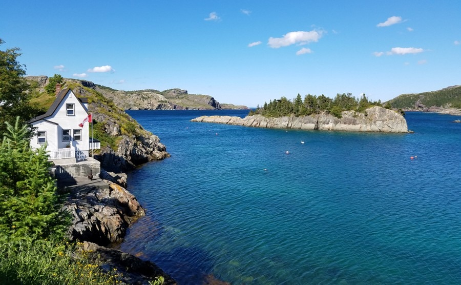 Brigus, Newfoundland is one of the perfect places to get away from it all.
