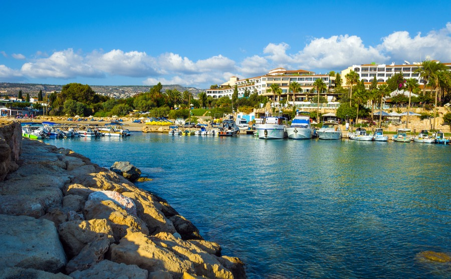 Coral Bay Paphos, holiday home heaven