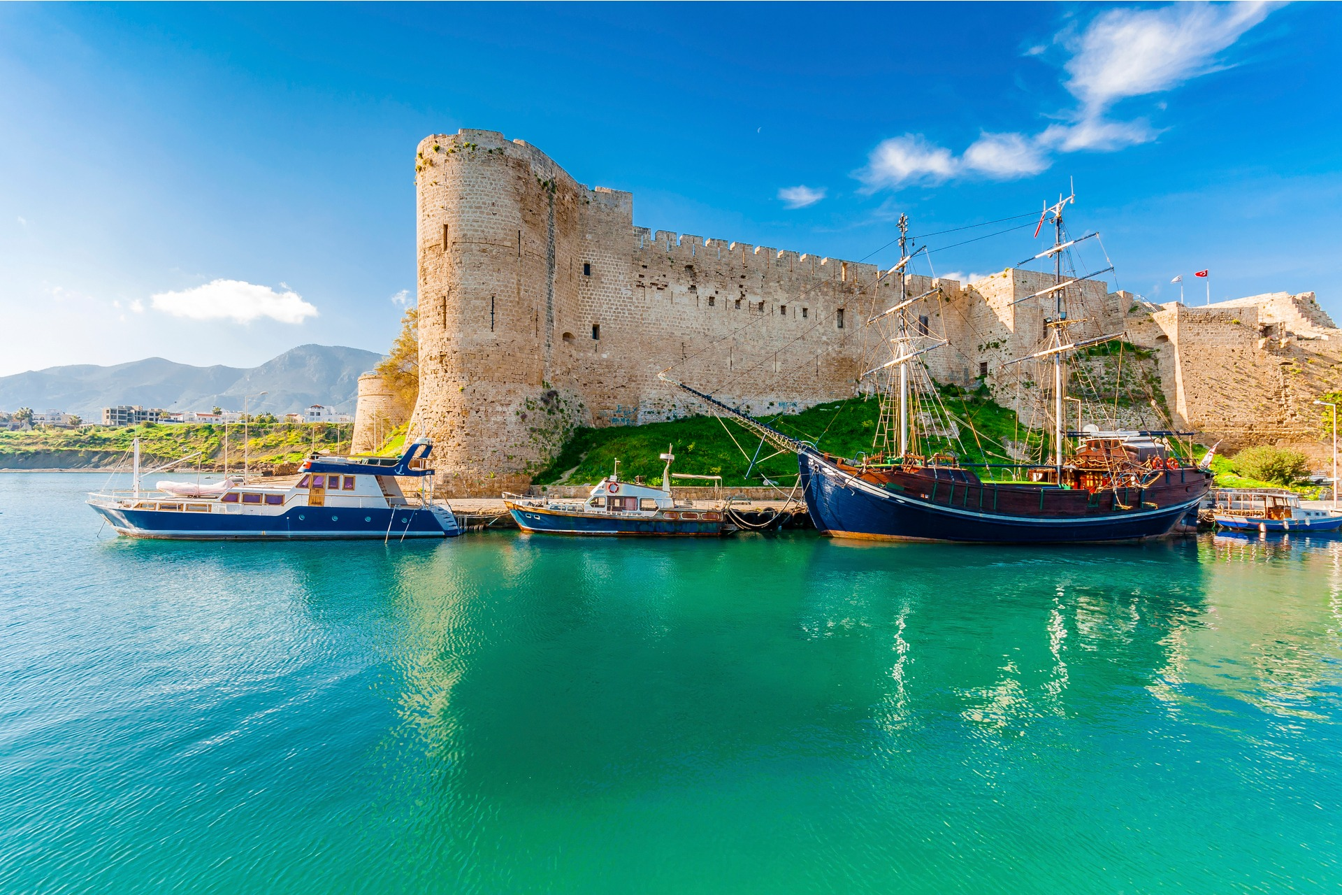 Kyrenia Castle View in Northern Cyprus