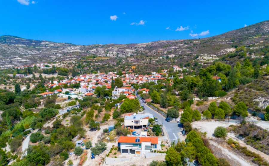 Lania or Laneia is the ideal spot to retire in Cyprus for peace and quiet near the mountains.