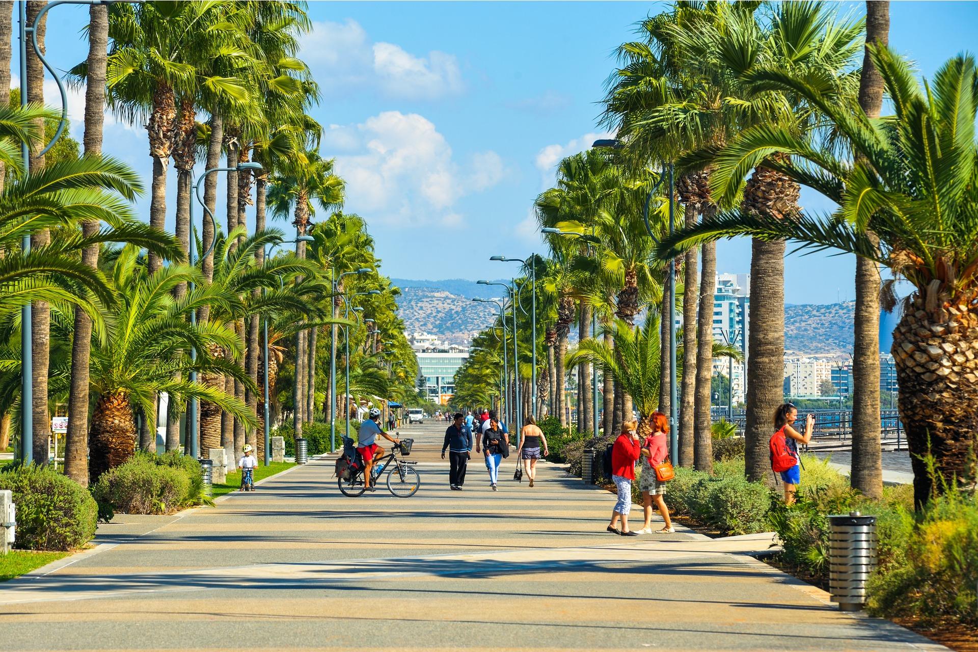The Boardwalk in Limassol, Cyprus