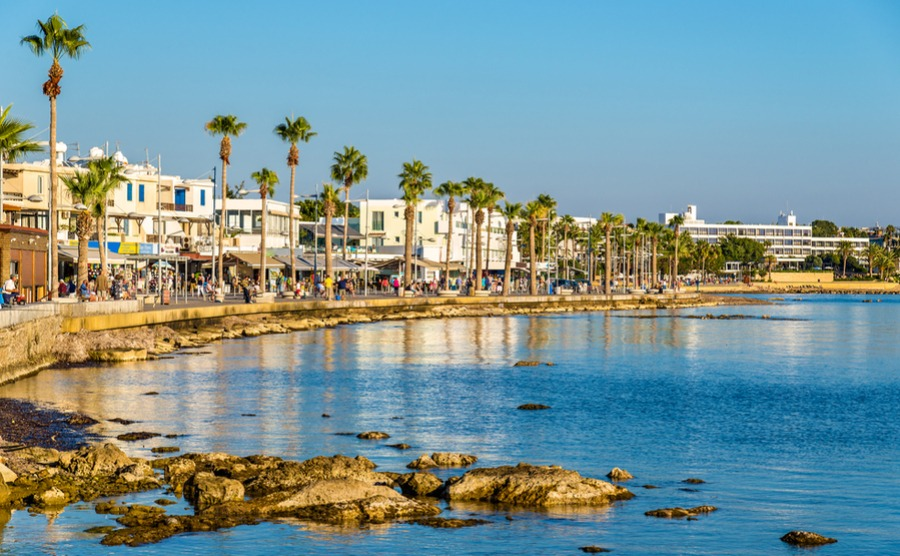 Paphos also has an active community of people who have retired to Cyprus.