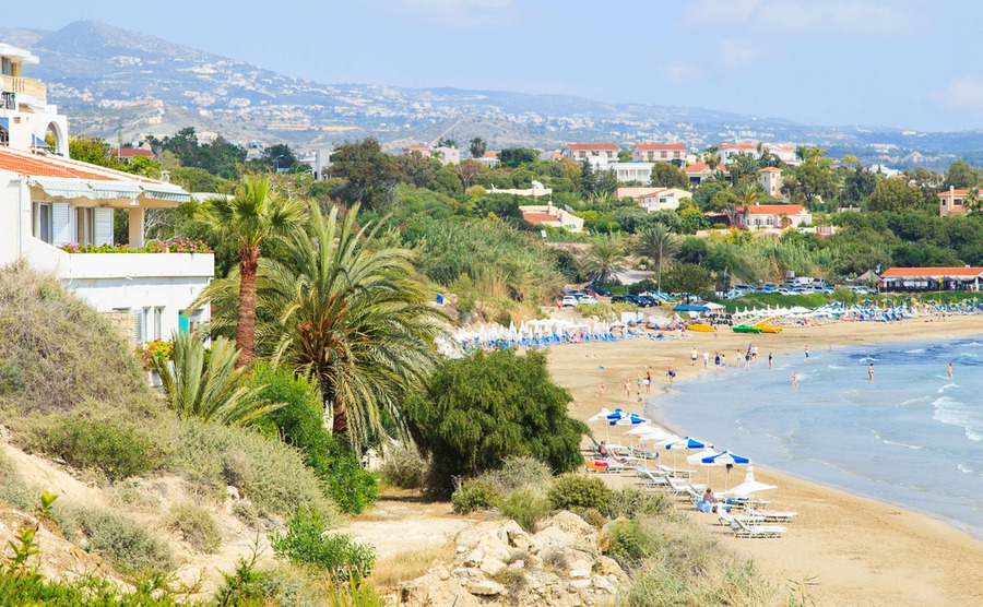 Paphos is an ideal location for a family holiday home near the beach.