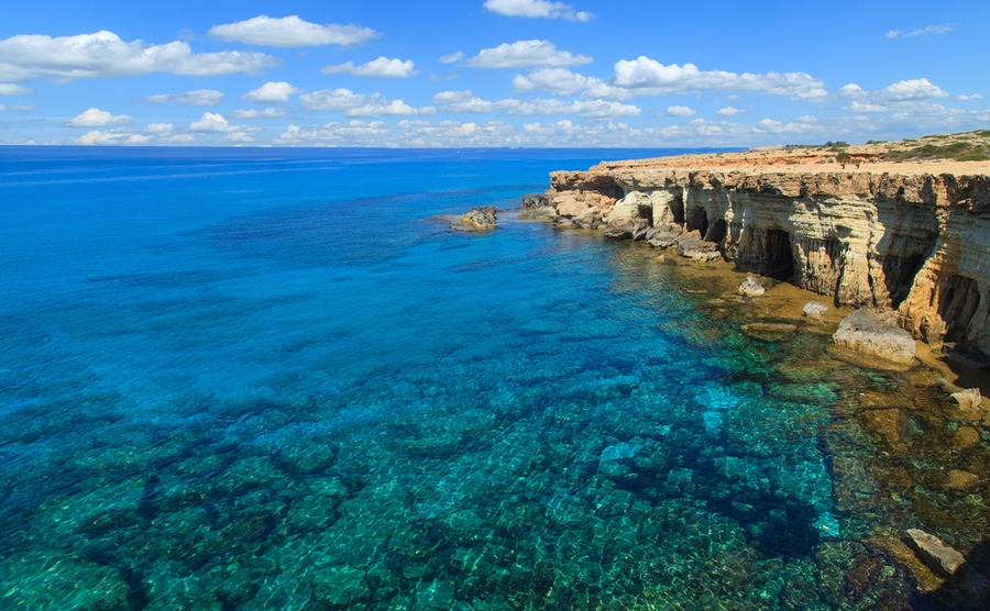 The Blue Lagoon in Poli – one of the most beautiful spots of the Akamas Peninsula.