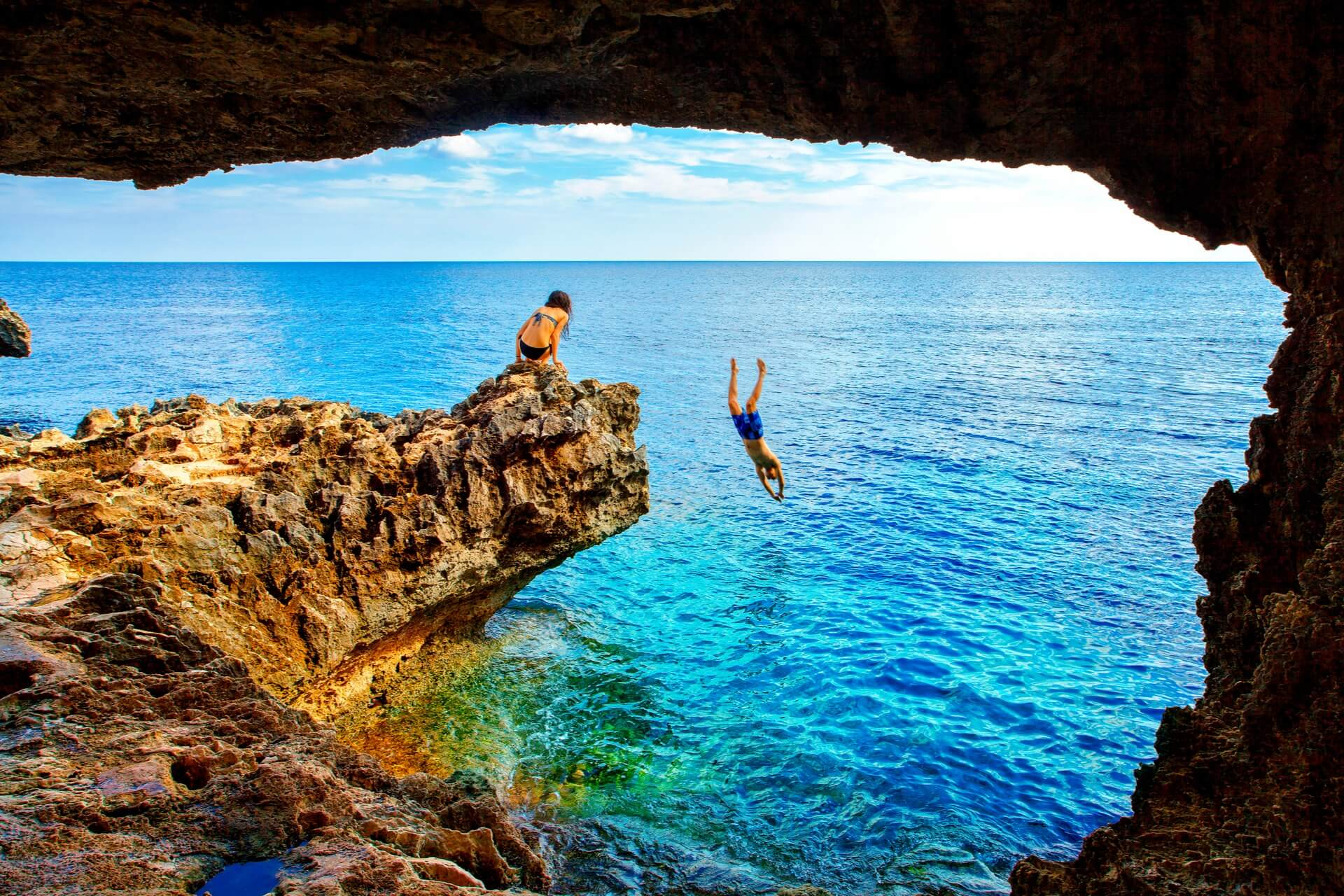 Sea Cave - Cape Greko of Ayia Napa and Protaras