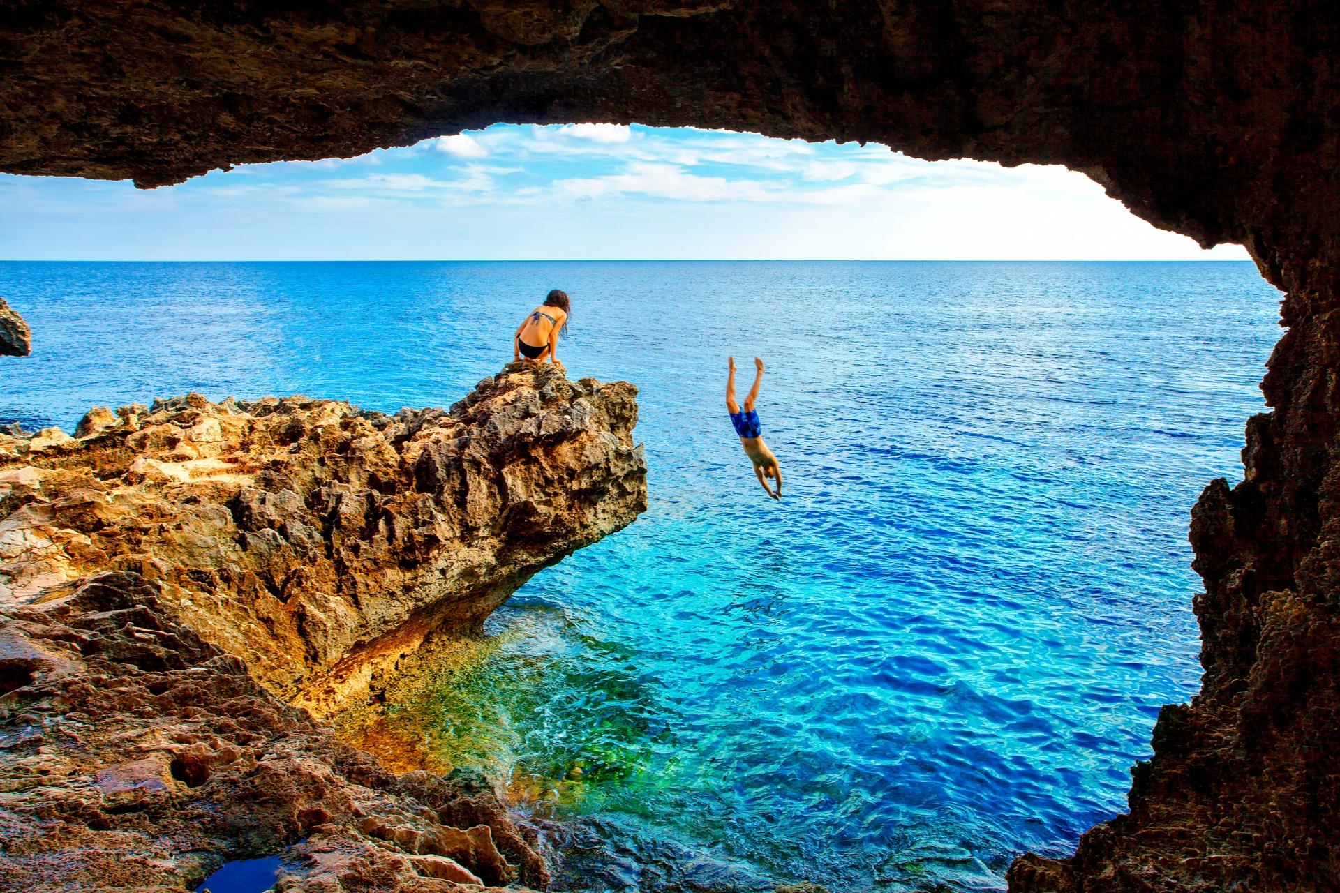 Sea Cave - Cape Greko of Ayia Napa and Protaras