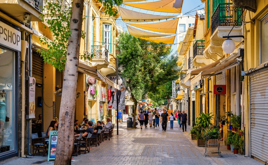 Nicosia is Cyprus' bustling capital and popular for people looking for career opportunities when deciding where to buy in Cyprus.