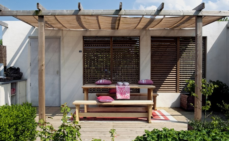 Remember to consider the Cypriot climate when planning your outside space.