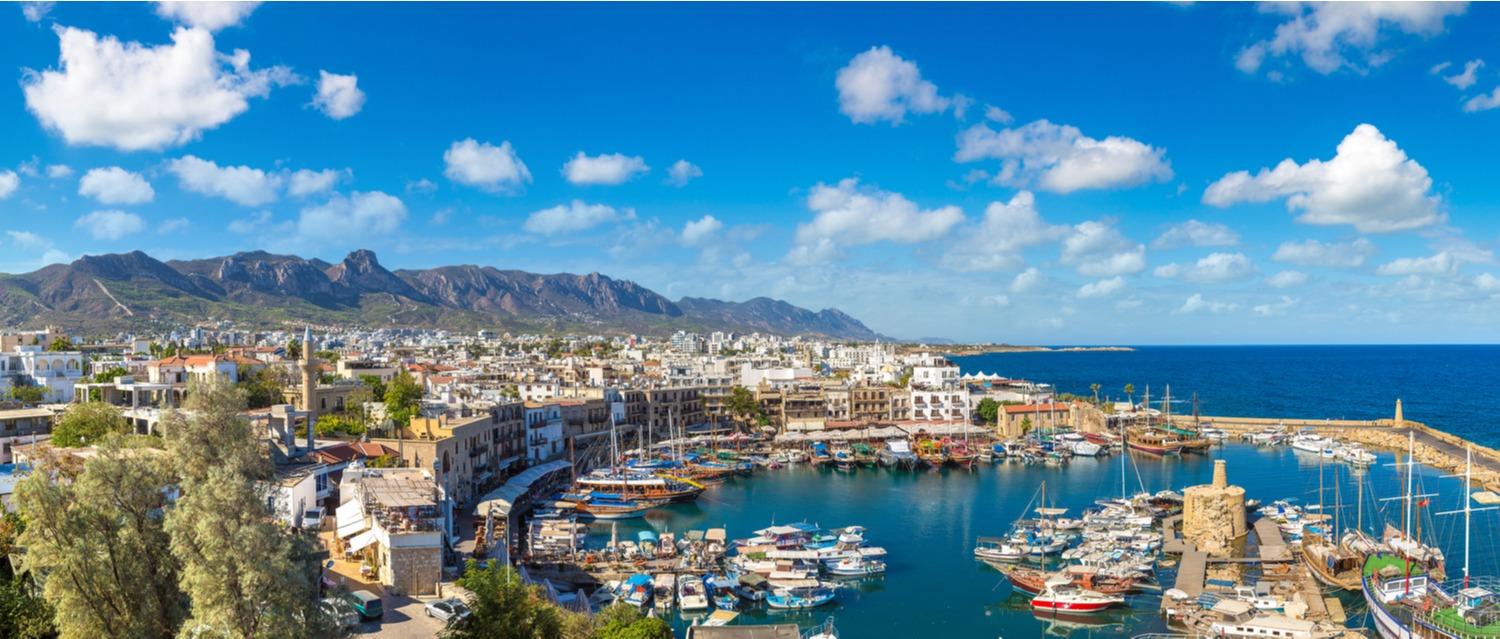 Kyrenia Marina in Northern Cyprus
