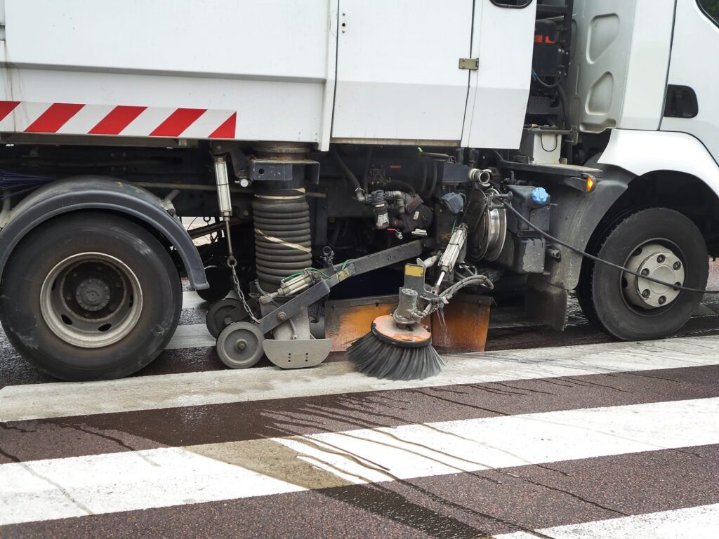 Taxes in France cover municipal services like street cleaning
