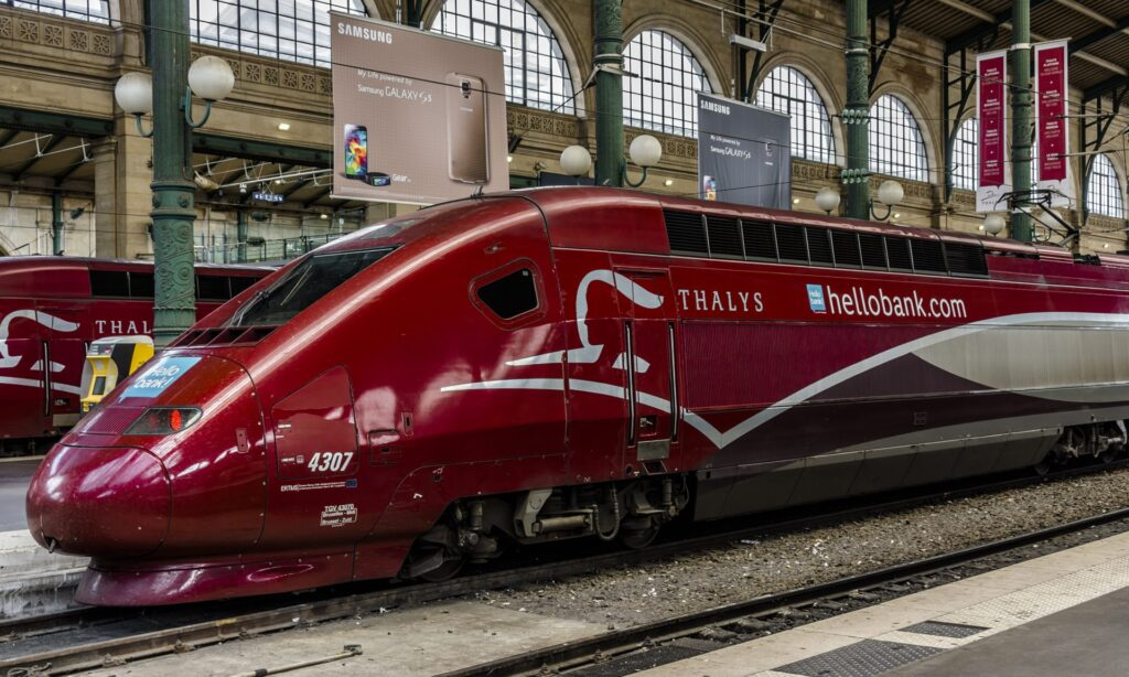 Thalys is an important part of transport in France, providing international trains to central Europe.