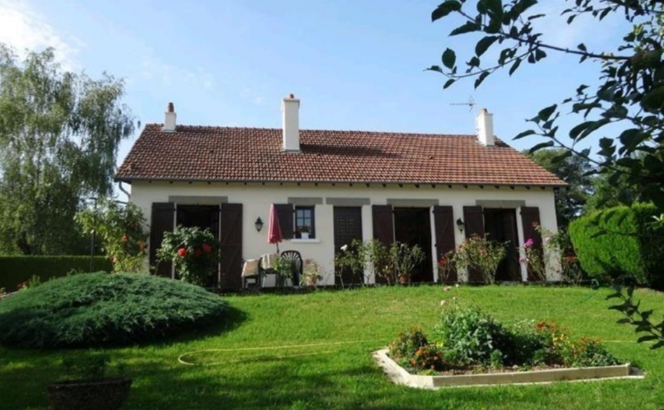 Three-bedroom house in Eymoutiers and near Lake Vassivière and Bujaleuf