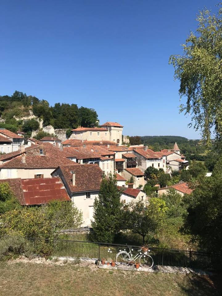 The beautiful village of Aubeterre-sur-Dronne, near to the Chambres de CoCo in Nabinaud.