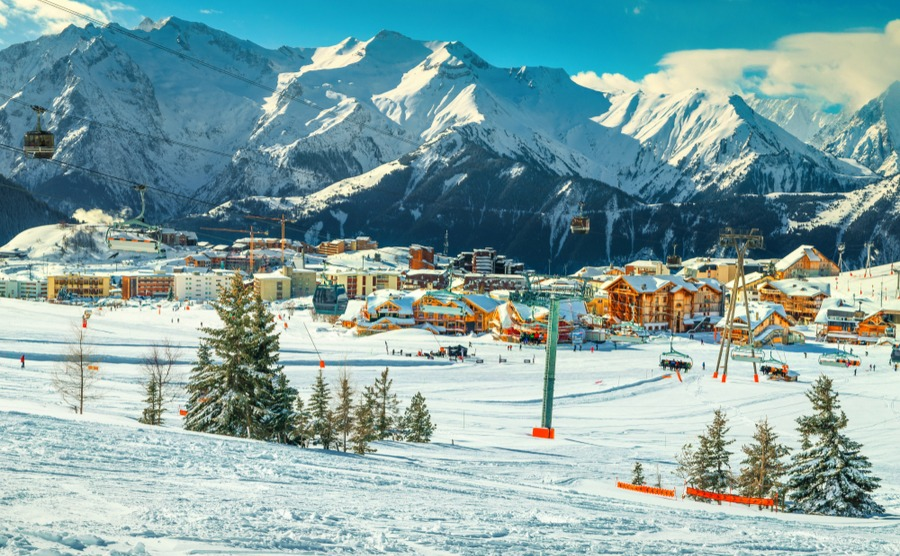 Alpe d'Huez has another feather in its cap after being crowned Best European Ski Resort 2019.