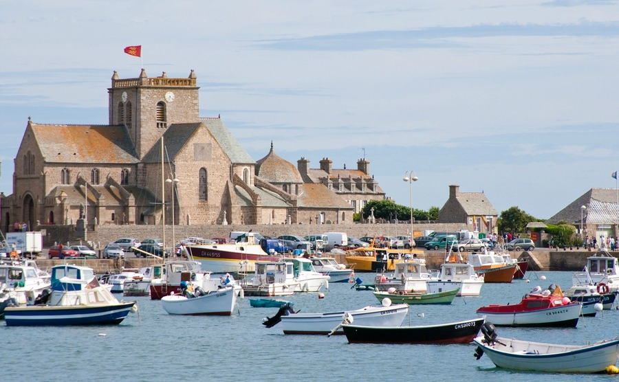 The famous port of Cherbourg makes this an area with some of the most easily accessible holiday homes in Normandy