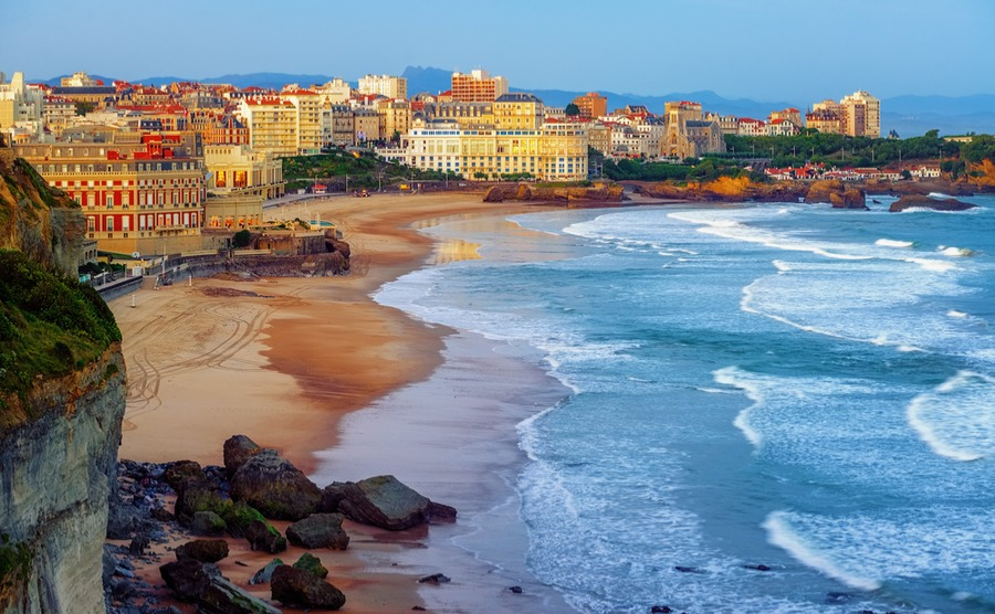 Glamorous Biarritz has enjoyed popularity among northern sun-seekers for over a century. No wonder it's a popular choice among those deciding where to buy in France.
