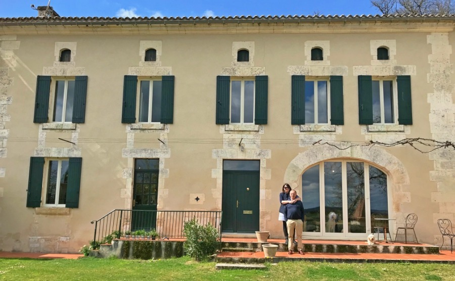 Haydn and Joanne have bought the beautiful Chambres de CoCo in Aubeterre-sur-Dronne in the Charente.