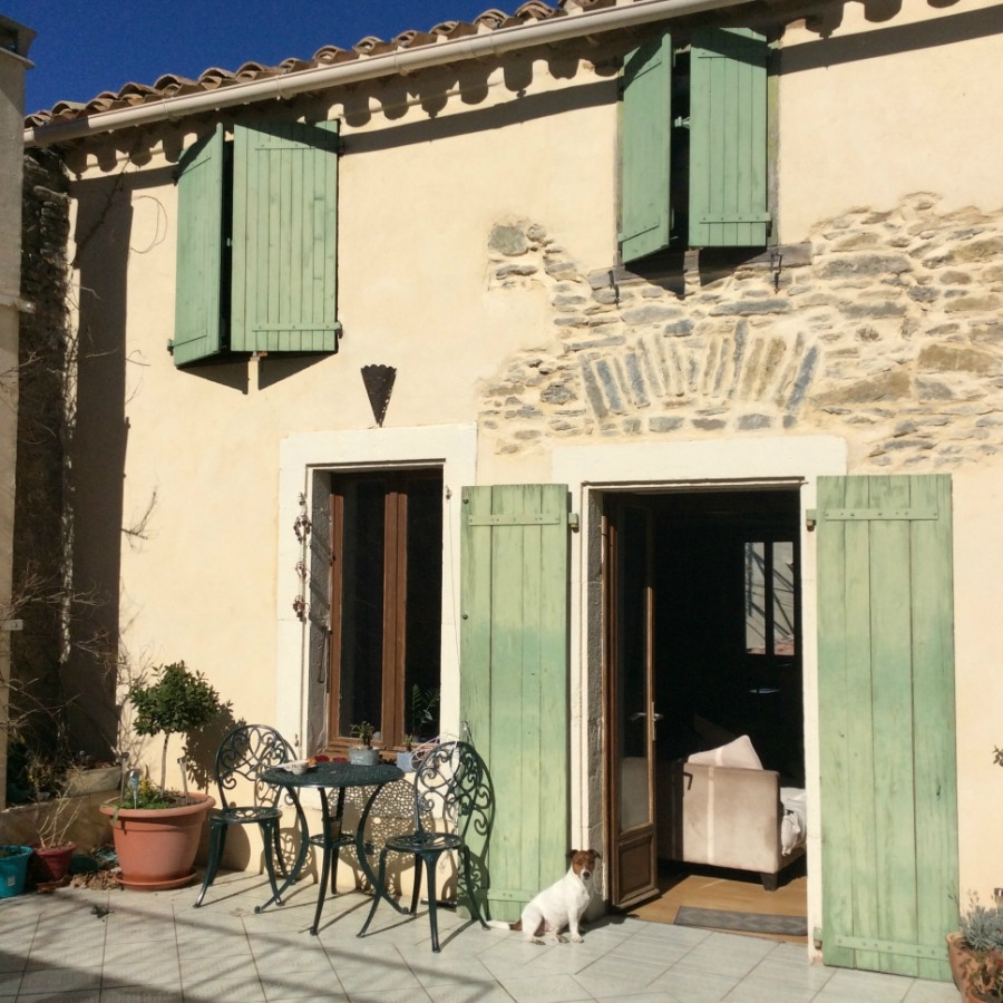 Diane and Kevin's beautiful home in the Minervois.