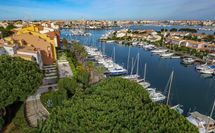 It's easy to see why Phill and his partner full in love with the area of Marseillan.