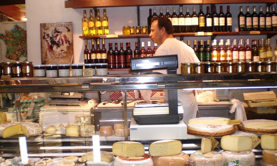 France - Cheese at les Halles