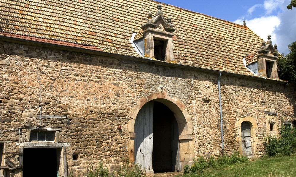 France - Old farmhouse awaiting restoration