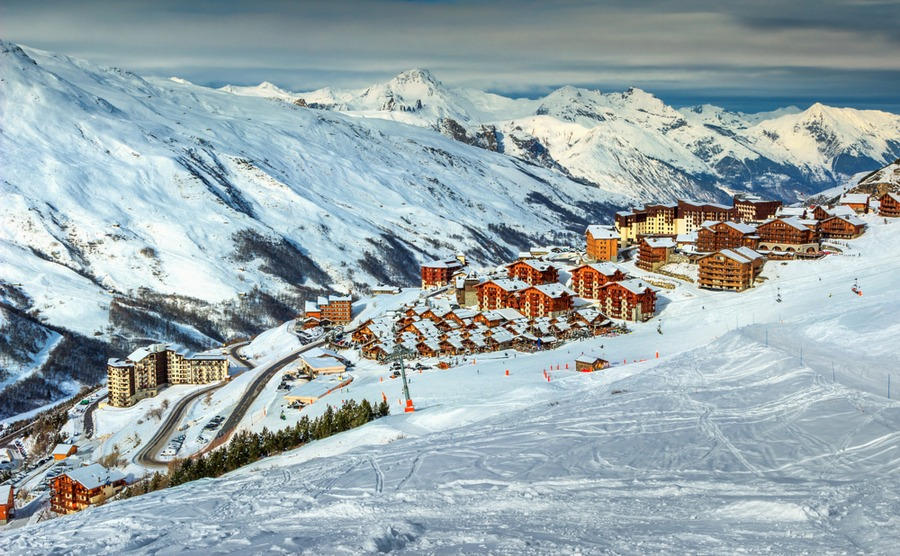 The spotlight's on La Rosière following the opening of a new ski area.