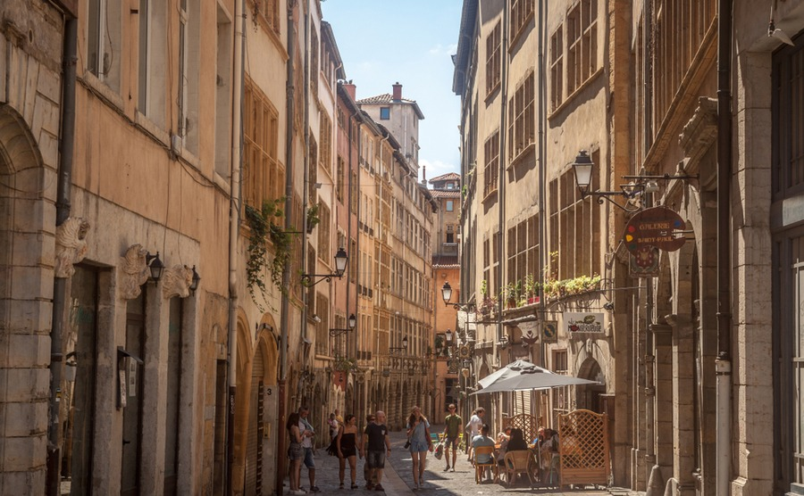 Lyon is one of the property hotspots worth keeping an eye on in France. BalkansCat / Shutterstock.com