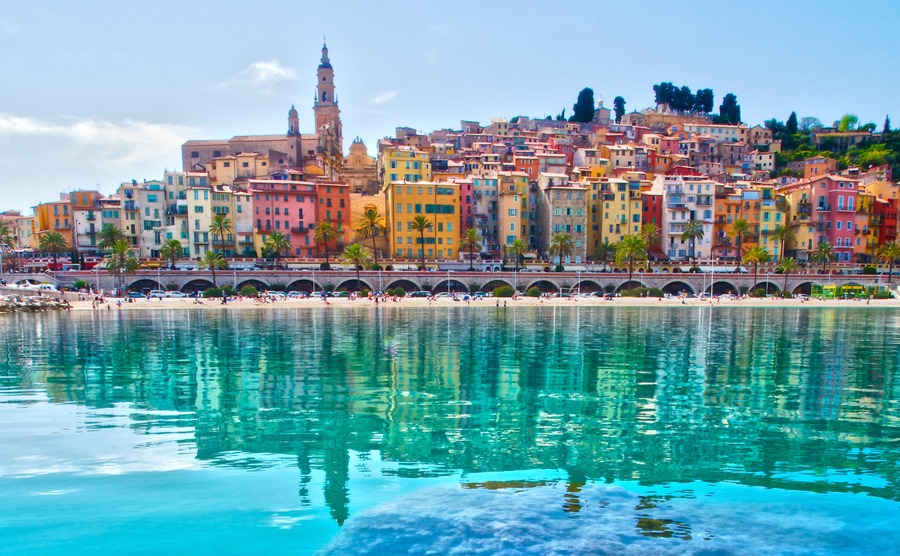 The French Riviera is an old favourite among the British (and much of the rest of Europe).