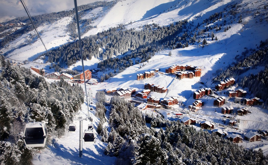 Méribel gives you access to the full Trois-Vallées area.