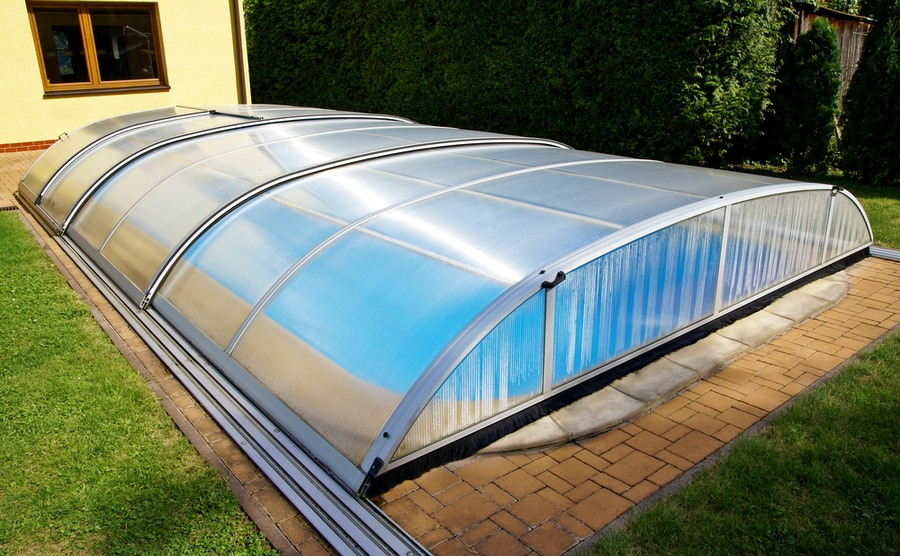 Your pool in France will need some form of cover or fencing.