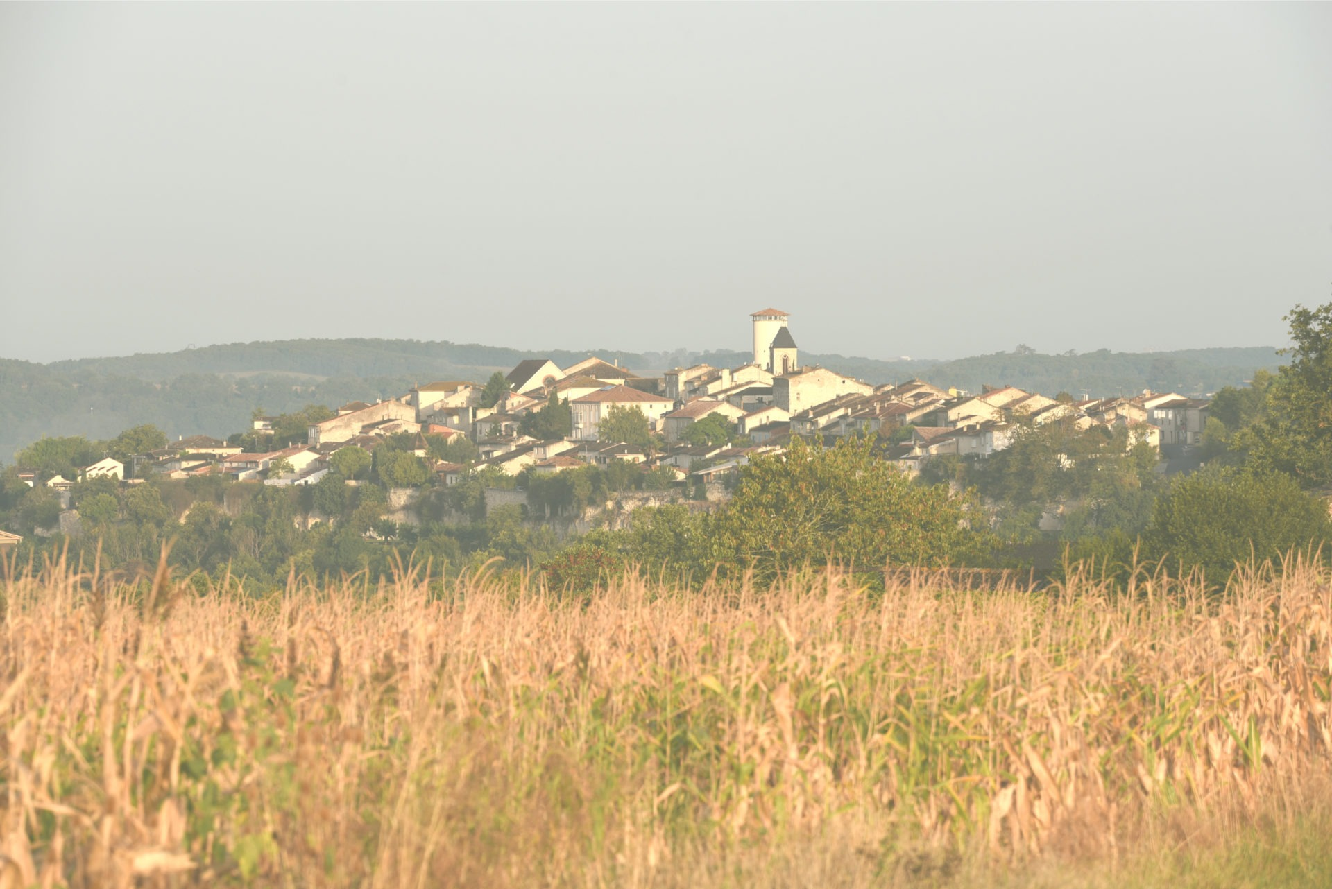 The charming village of Puymirol.