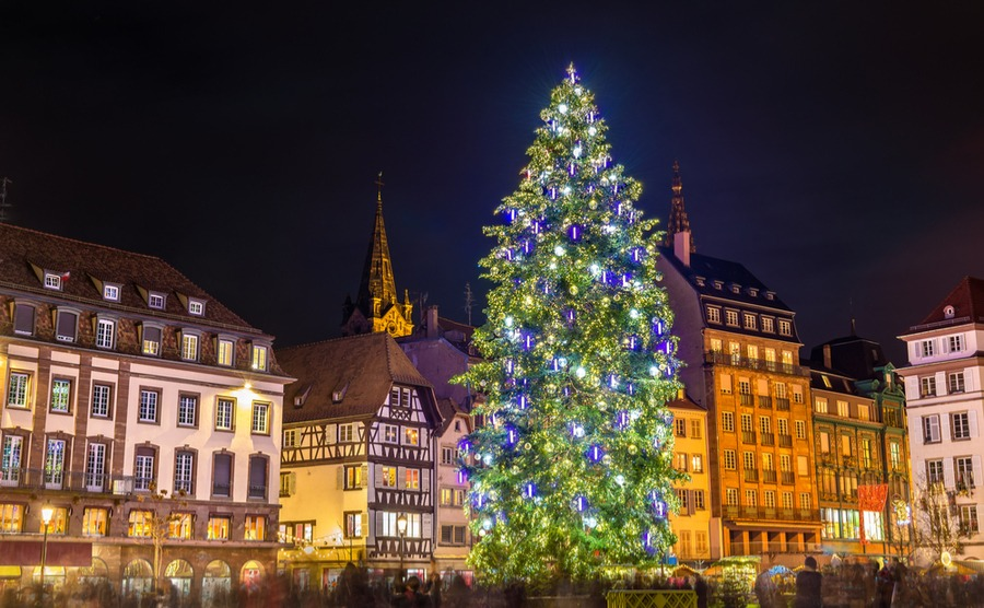 It's not winter in France without a Christmas market, and Strasbourg has one of the best.