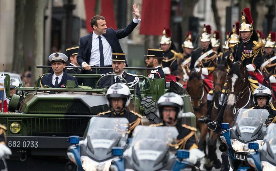 President Macron boosts property