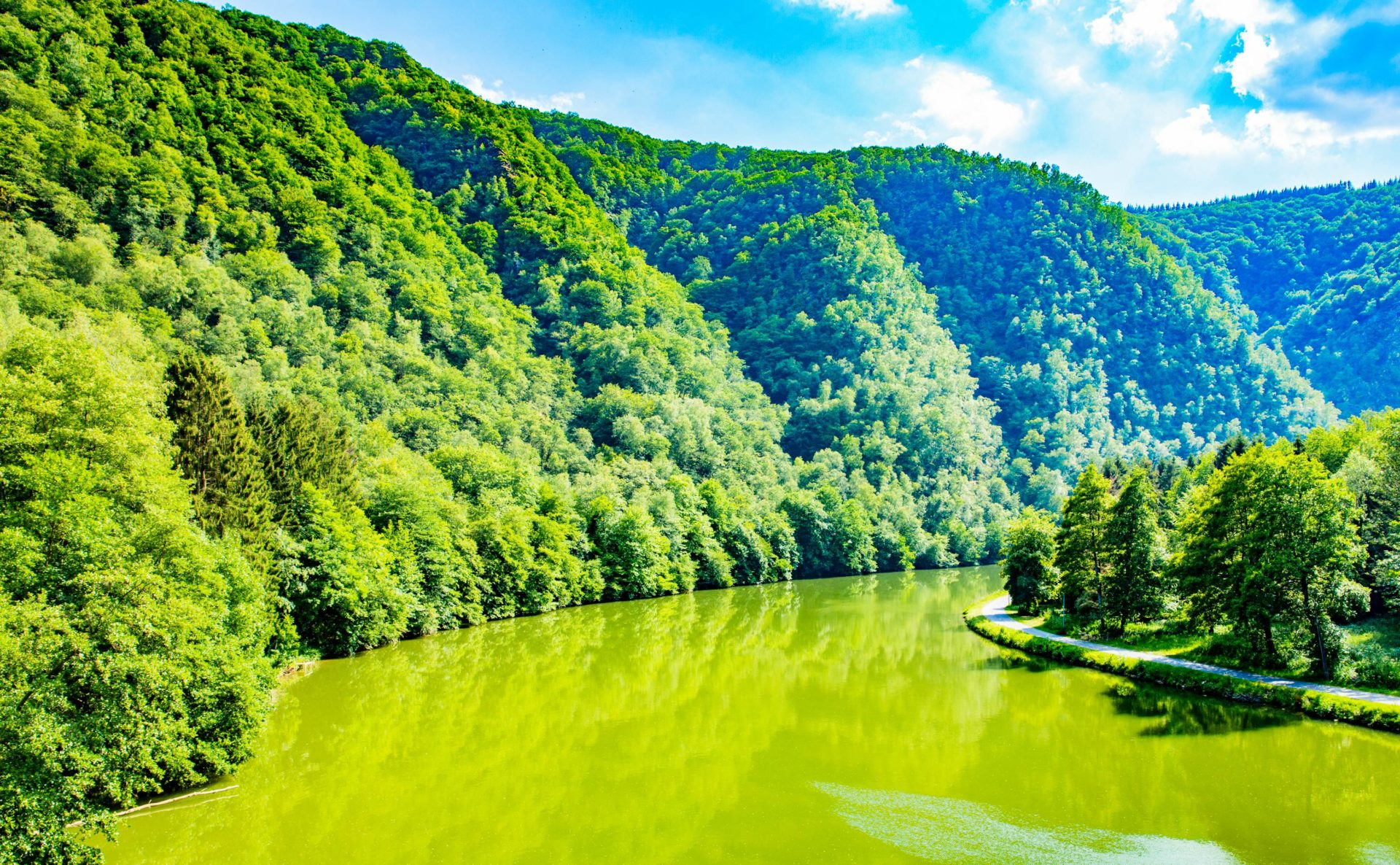It's hard to rival the natural beauty of the Ardennes (or, indeed its house prices, with some of the cheapest homes in France)